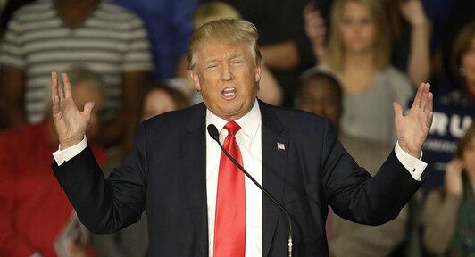 Le candidat du parti Républicain à la présidentielle américaine Donald Trump