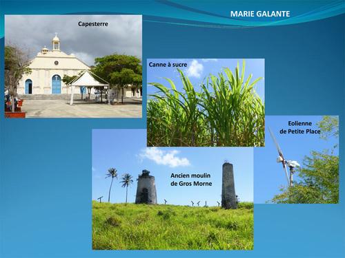 Marie-Galante (jumelée à Belle-Île-en-Mer)
