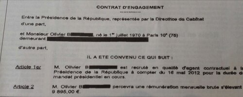 Le salaire de ministre du ... coiffeur de François Hollande