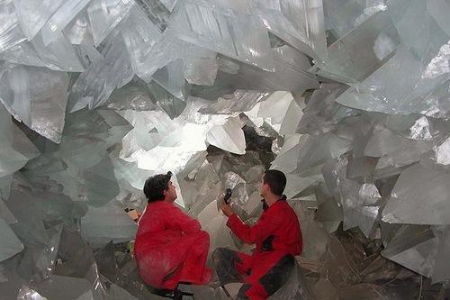 Les cristaux géants