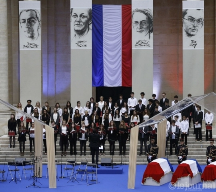 Panthéon : un premier hommage aux quatre entrants à la Sorbonne