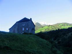 Chemin d'Arles 2008 - Borce (23km) - Col du Somport (18km)
