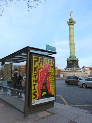 affiche graphisme Paris 70690