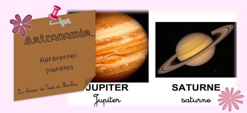 Le référentiel sur le système solaire