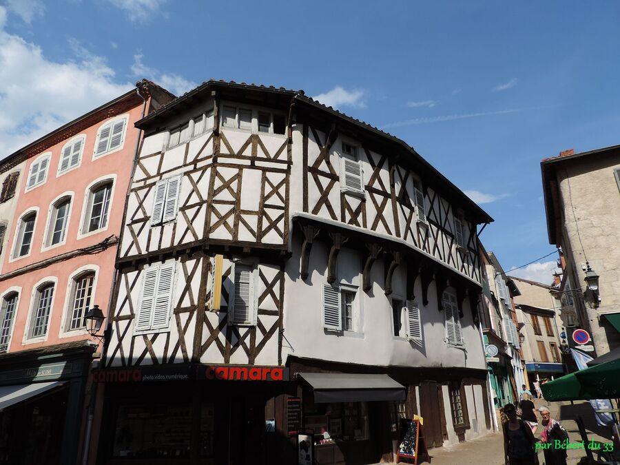 la ville d'Ambert  (63)