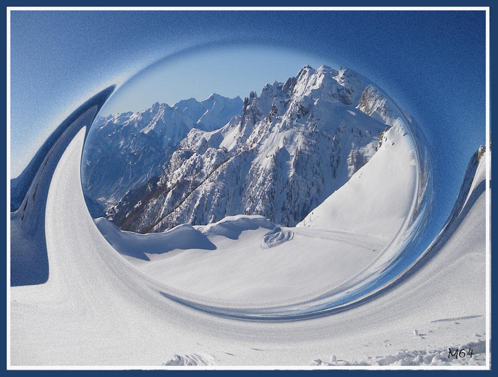 Photos retouchées 02 paysages enneigés