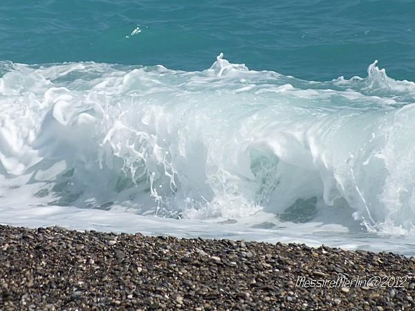 La plage rouleau