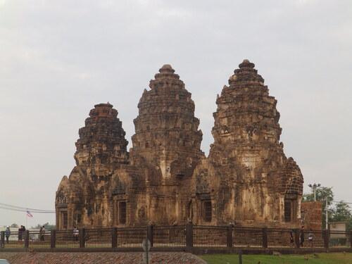 Lopburi, la ville aux singes (mardi 17/01)