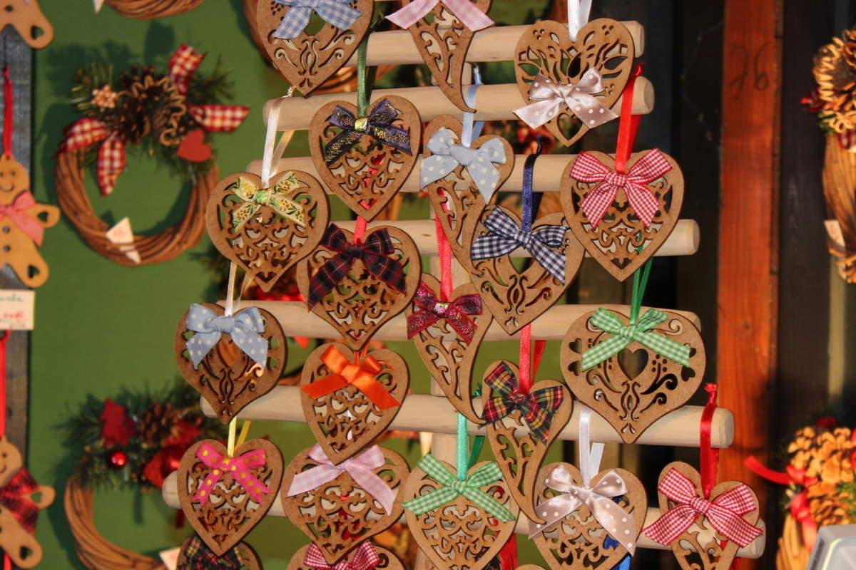 Ou un coeur en bois découpé ?