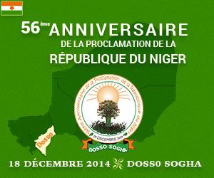 18 décembre : 56° anniversaire de la République du Niger
