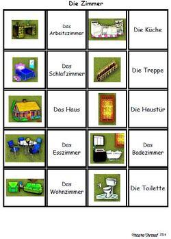 Jeux de paire en allemand