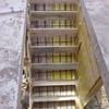 réalisation des coffrages pour l\'escalier béton 007