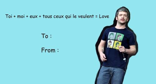 Cartes de saint valentin