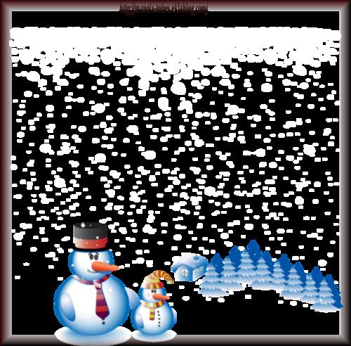 Tube bonhomme de neige 2970