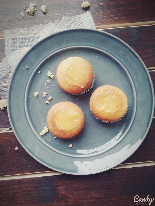 Mes cupcakes au citron meringué