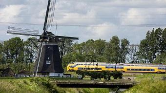 Des trains à vent ...