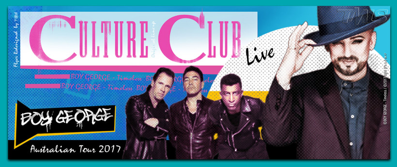 CULTURE CLUB - Australian Tour '17 - Redesigned By T@d