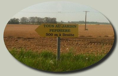 Visite privé d'un ami, pépinièriste en Normandie
