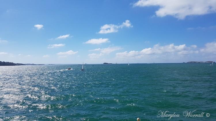 Bretagne : Saint-Malo, La Conchée et Cézembre