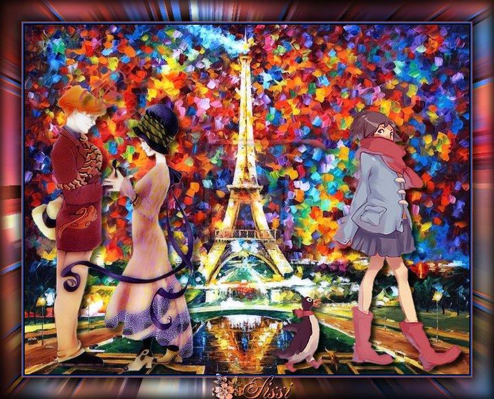 * Paris sous la Pluie *