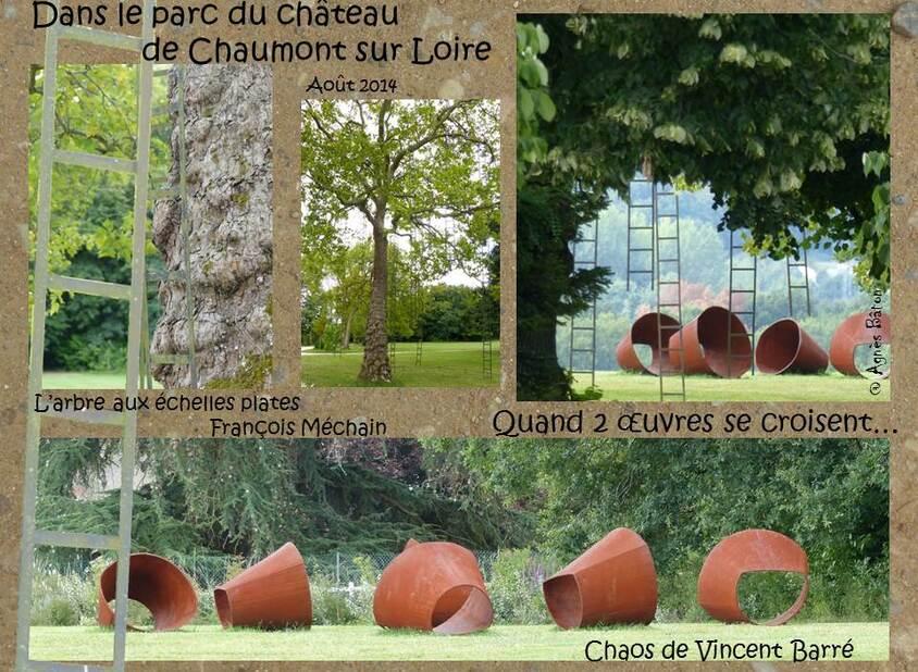 Le parc de Chaumont sur Loire