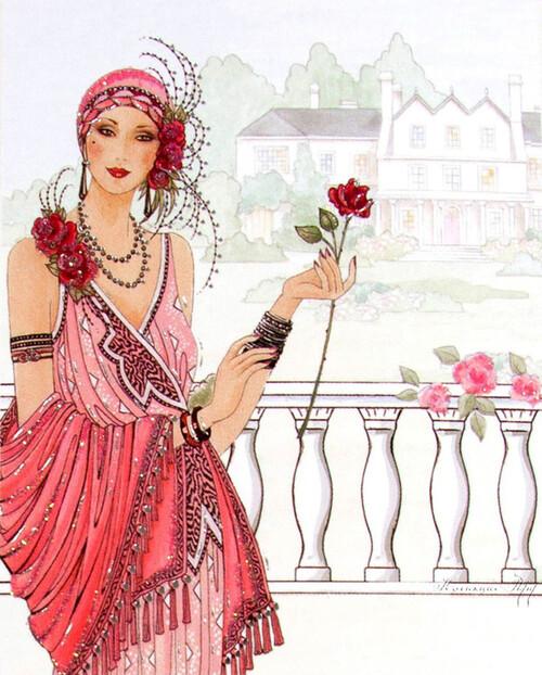 La femme, comme une fleur