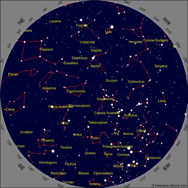 """Résultat de recherche d'images pour """"carte ciel hémisphère sud"""""""