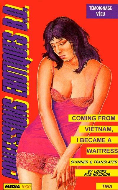 Tina serveuse vietnamienne