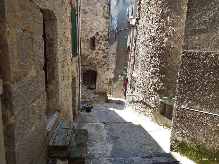 Le village d'Entrevaux