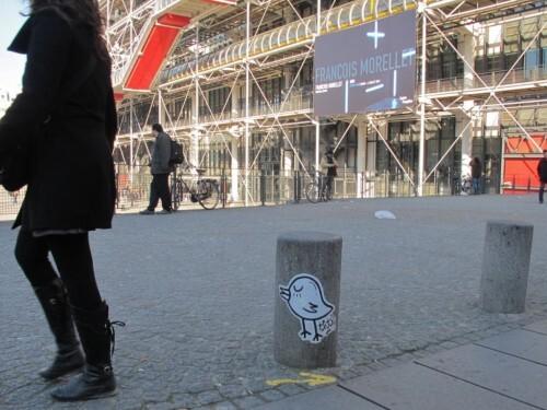 THTF street-art Beaubourg