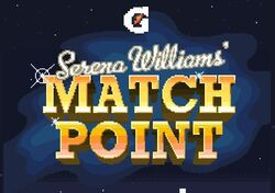 Serena Williams collaborated with Gatorade for a Snapchat video game