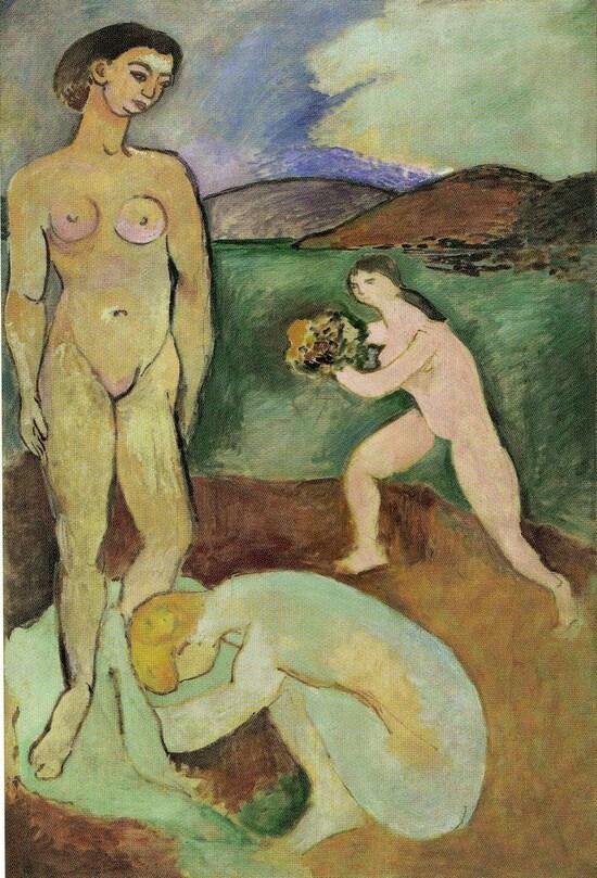 * Matisse 21 /  1907 :  Le luxe II