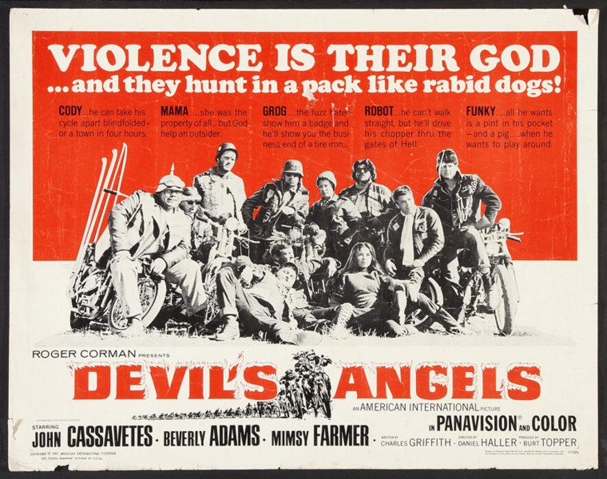 DEVIL'S ANGELS (LES ANGES DE L'ENFER) box office USA 1967