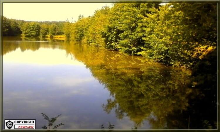 Lac et rivière de gironde,grace a notre Garonne