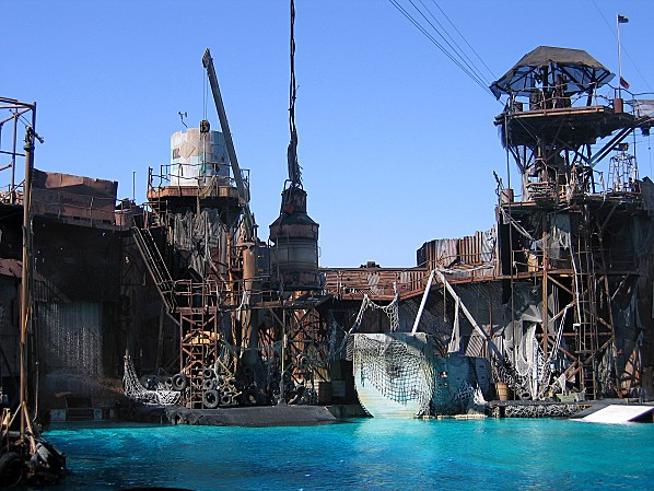 Los Angeles Studio Universal attraction Waterworld 3