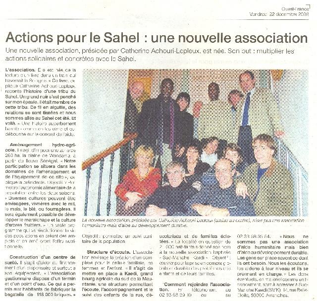 Decembre 2006 - OUEST FRANCE