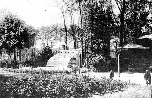 Les archers expulsés du parc Saint-Pierre en 1911