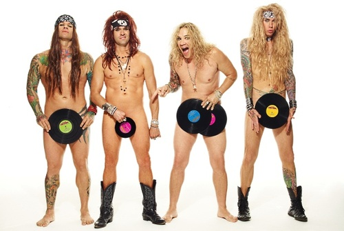 Steel Panther naked