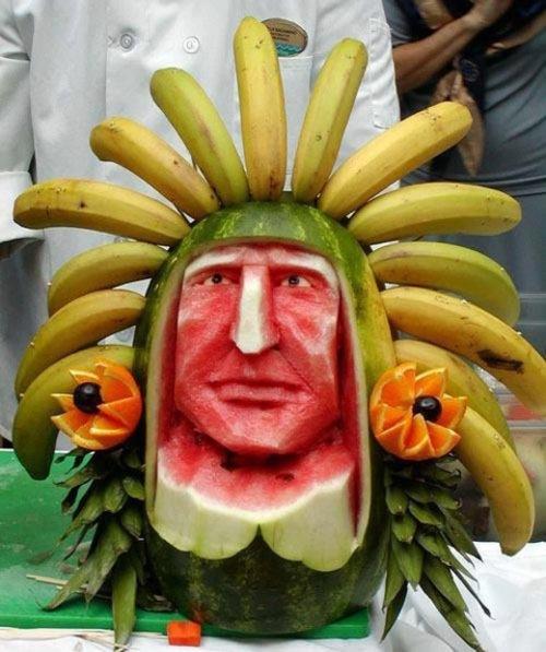Des fruits revisités .....