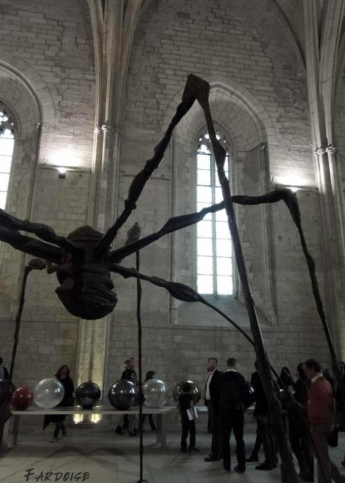 """""""Maman"""", l'araignée de Louise Bourgeois"""