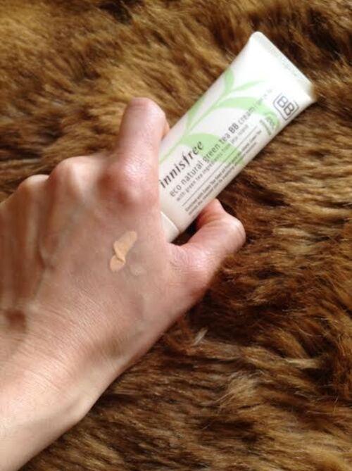 Eco Natural Grean Tea BB Cream d'Innisfree, une BB sans silicones