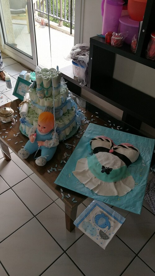 Ma baby shower surprise