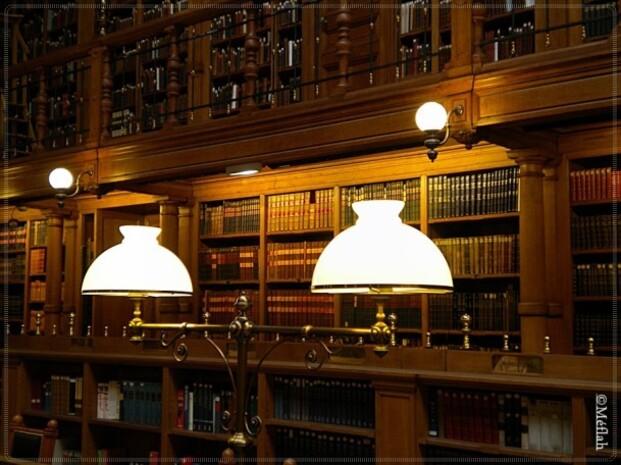 L'Hôtel de Ville : La Salle de lecture