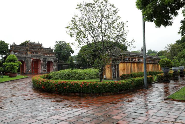 Cité impériale, entrée de la résidence Diên Tho