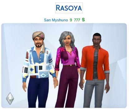 Semaine 2 - Quartier San Myshuno - Foyer Rasoya