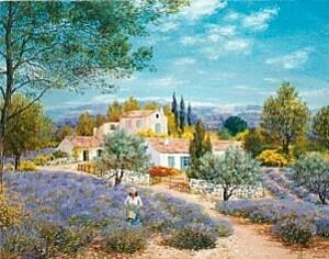 Belles peintures de ELISABETH FOURCADE