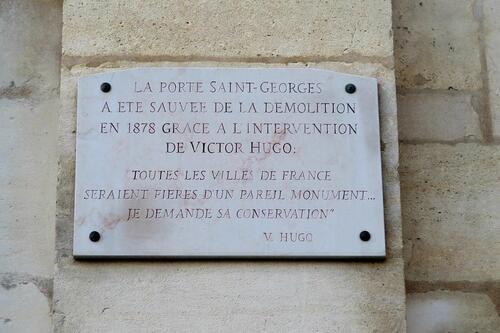 La Porte Saint-Georges à Nancy