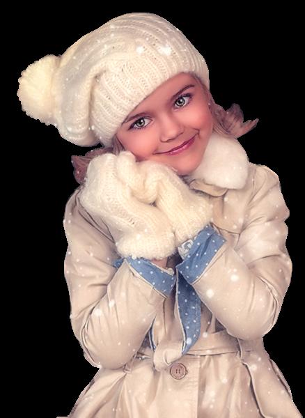 Tubes enfants hiver création 9