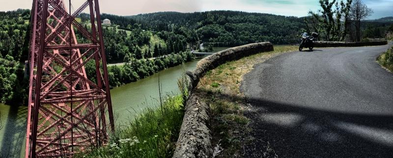 Deux jours de balade moto dans le Cantal
