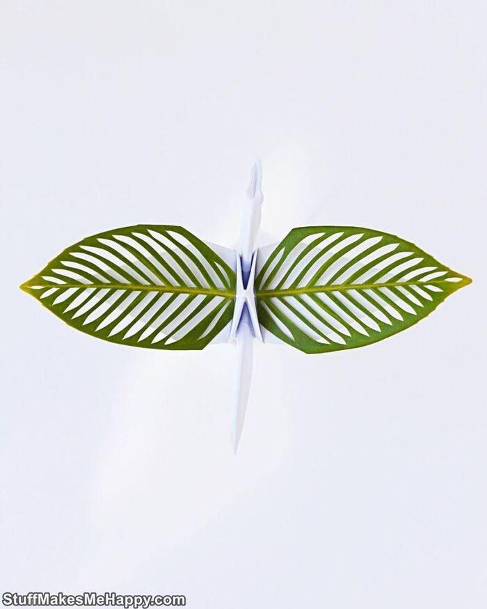Art et artisanat du papier: Cristian Marianciuc crée des grues en papier origami incroyablement belles qui vous surprendront par leur sophistication